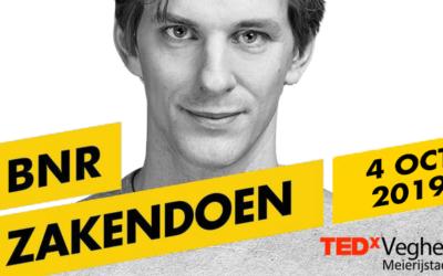 BNR Nieuwsradio zendt gedurende TEDxVeghelMeierijstad uit op de Noordkade